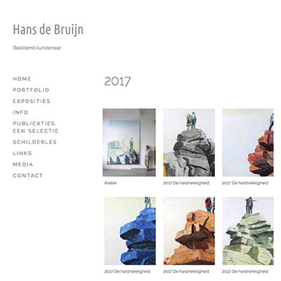 Website Hans de Bruijn